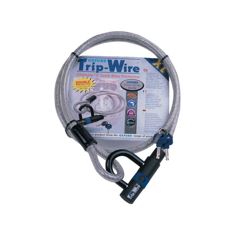 OXFORD XL TRIPWIRE - HIGH SECURITY CABLE AND PADLOCK