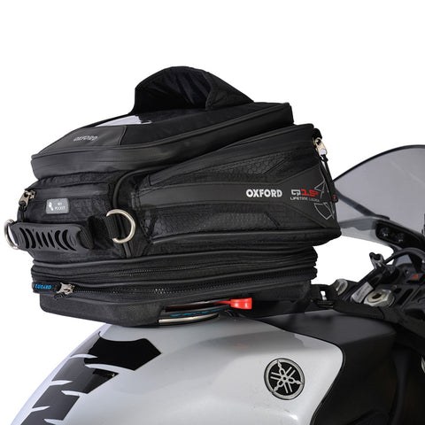 OXFORD Q15R QUICK RELEASE TANK BAG BLK