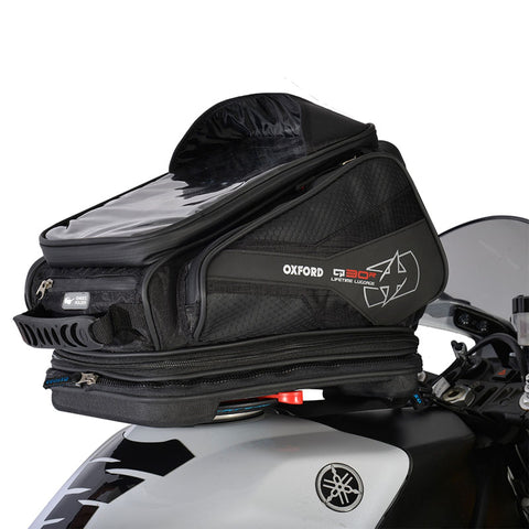 OXFORD Q30R QUICK RELEASE TANK BAG BLK