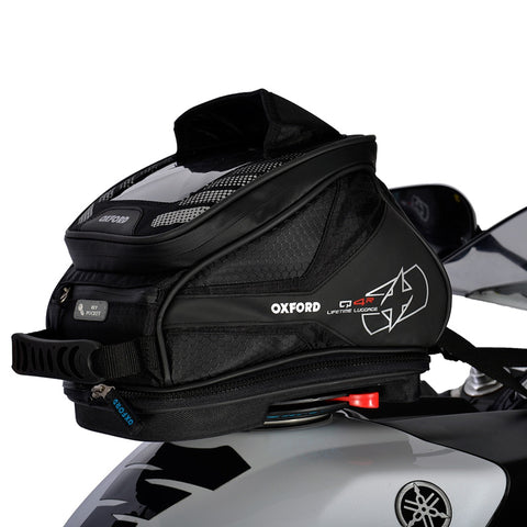 OXFORD Q4R QUICK RELEASE TANK BAG BLK