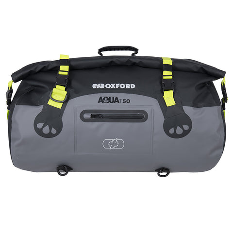 OXFORD AQUA T50 ROLL BAG BLK/FLUO