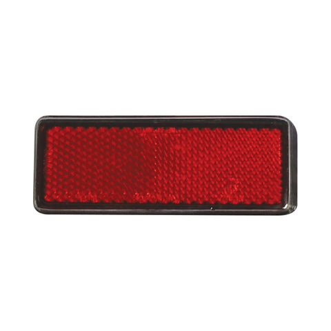 OXFORD REFLECTOR RED RECTANGULAR (EACH)