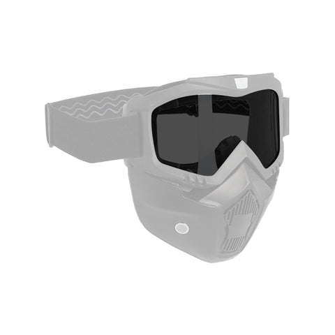 OXFORD ASSAULT MASK GREY SMOKE REPL LENS