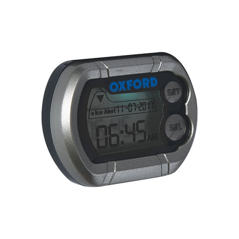 OXFORD MICRO DIGI CLOCK w/ ICE WARNING
