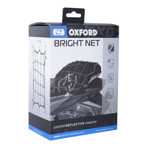 OXFORD CARGO BRIGHT NET BLK REFLECTIVE  ( NEW )
