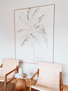 Fine Art Saint John Coconut Palm, Tropical and Coastal Art on Canvas
