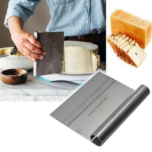 Chef's Stainless Steel Cake & Pastry Dough Cutter