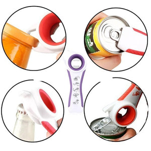 5-in-1 Multi-function Jar & Bottle Opener