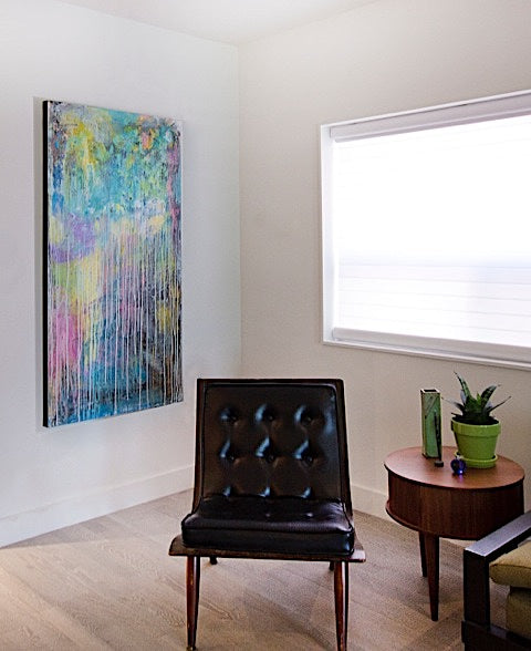 Artwork featured in House & Home by Designer Gillian Lazanik