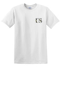 "Jenna Raine ""Us"" White Tee"