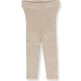 Grown Ribbed Marle Oatmeal Leggings