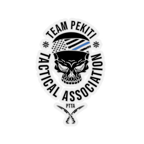 Team Pekiti Thin Blue Line Sticker