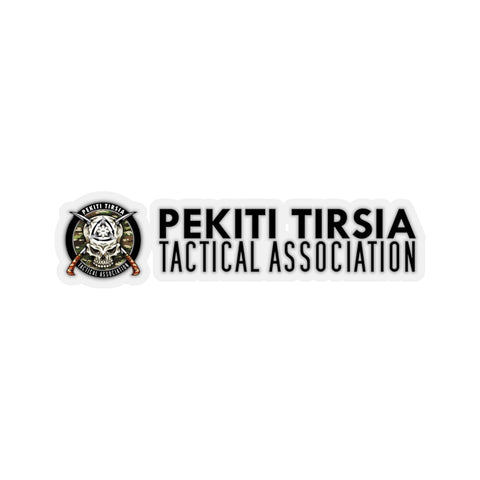 PTTA Horizontal Sticker