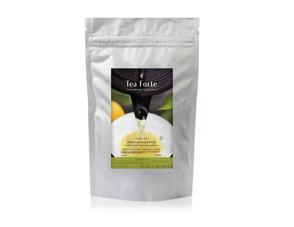 AFRICAN SOLSTICE ONE POUND LOOSE TEA POUCH