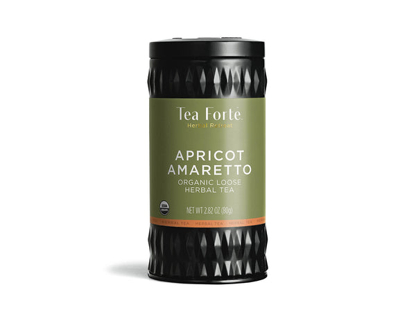 APRICOT AMARETTO LOOSE LEAF TEA CANISTER