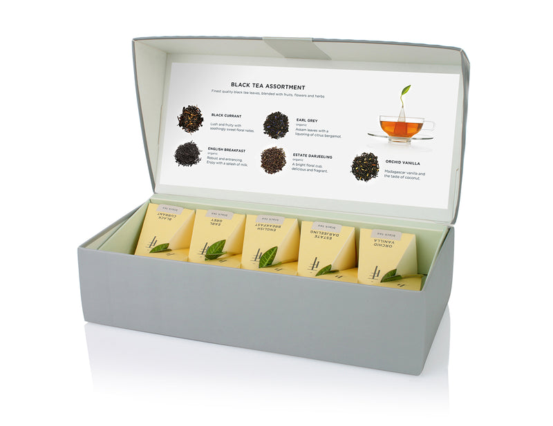 PETITE PRESENTATION BOX BLACK TEA ASSORTMENT