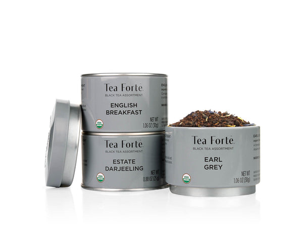 LOOSE LEAF TEA TRIOS LOOSE LEAF TEA TRIO - BLACK