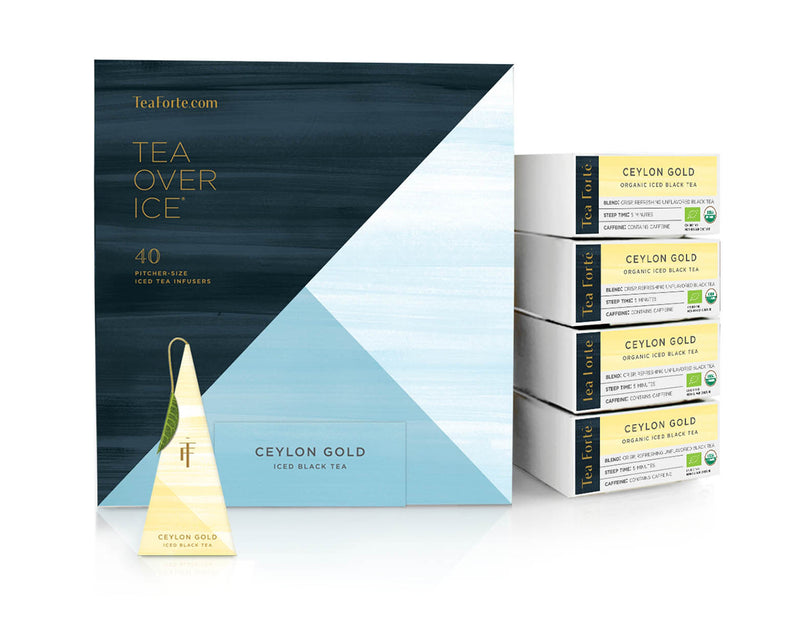 ICED CEYLON GOLD TEA OVER ICE EVENT BOX
