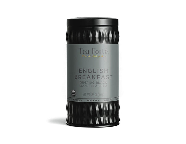 ENGLISH BREAKFAST TEA LOOSE LEAF TEA CANISTER