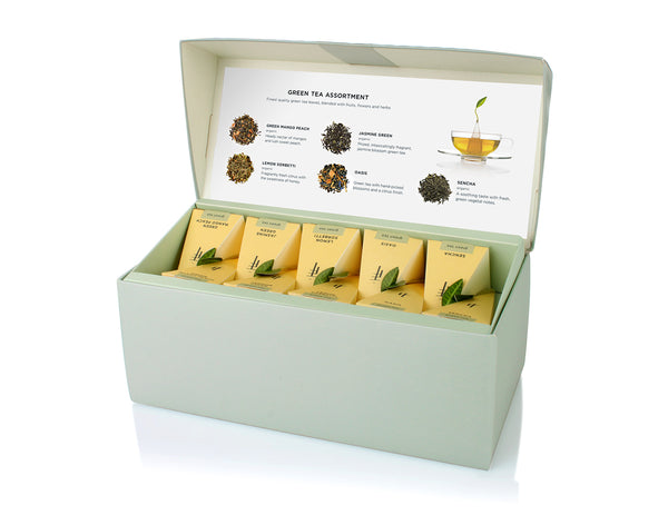 PRESENTATION BOX GREEN TEA ASSORTMENT