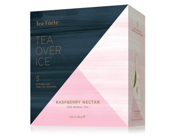 ICED RASPBERRY NECTAR TEA OVER ICE 5PK BOX