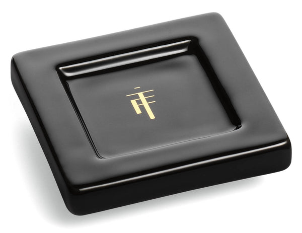 TEA TRAYS ONYX BLACK - SET OF TWO