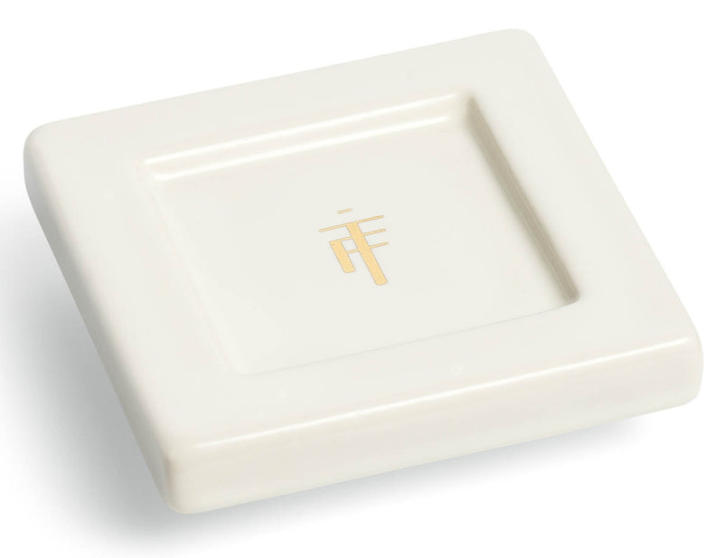 TEA TRAYS ONYX ORCHID WHITE - SET OF TWO
