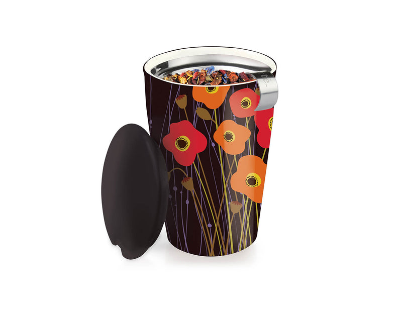 KATI® STEEPING CUP & INFUSER POPPY FIELDS