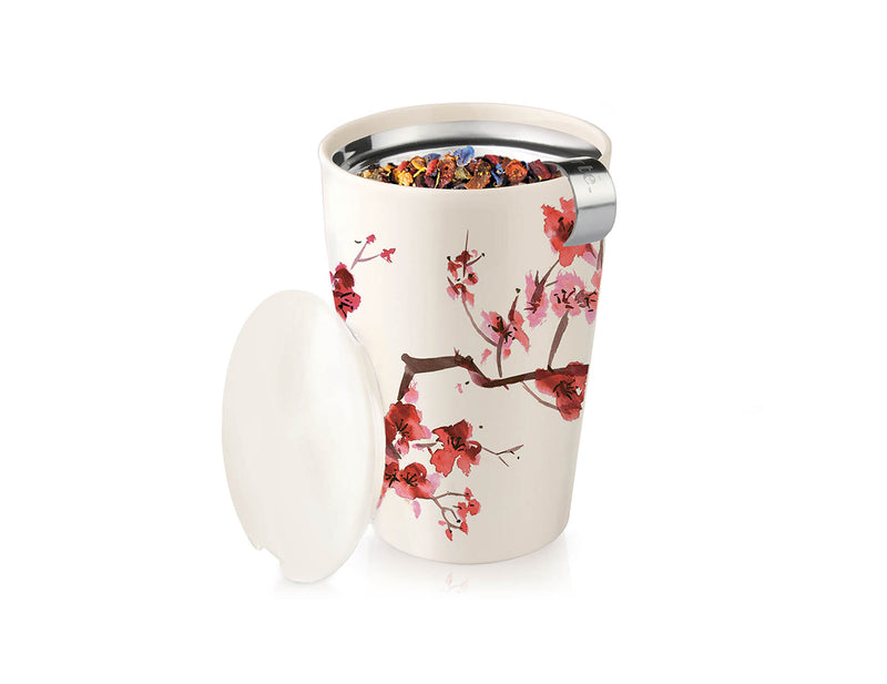 KATI® STEEPING CUP & INFUSER CHERRY BLOSSOM