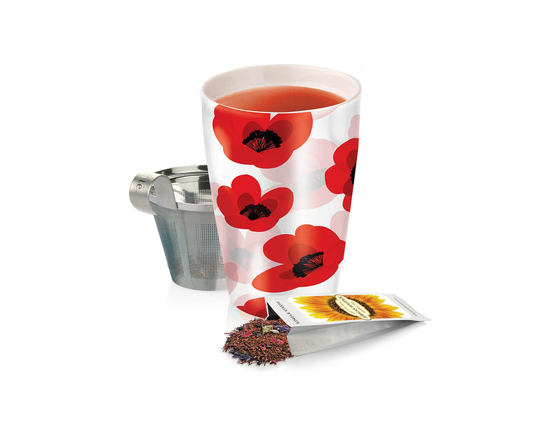 KATI® STEEPING CUP & INFUSER PETAL DROP
