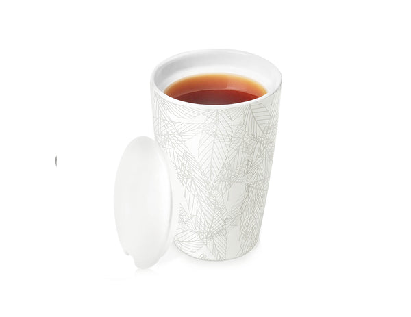 KATI® STEEPING CUP & INFUSER BLANCHE