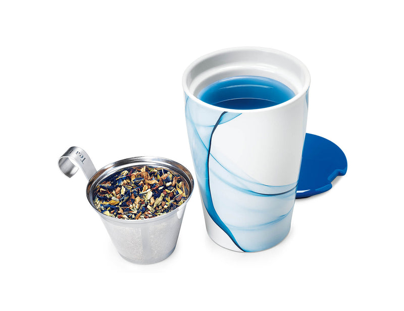 KATI® STEEPING CUP & INFUSER BLEU