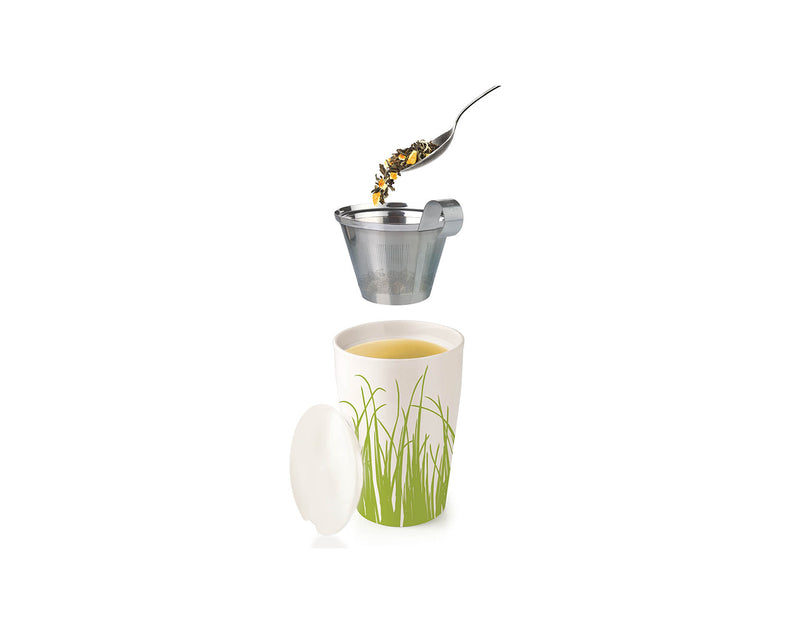 KATI® STEEPING CUP & INFUSER SPRING GRASS