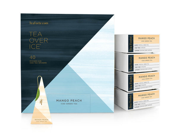 ICED MANGO PEACH TEA OVER ICE EVENT BOX