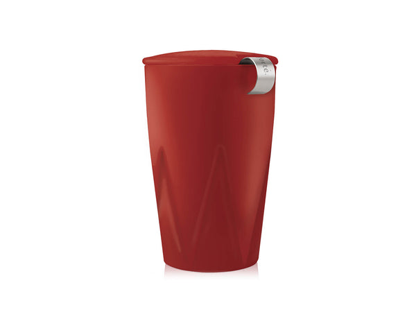 KATI® STEEPING CUP & INFUSER CRANBERRY FORTÉ
