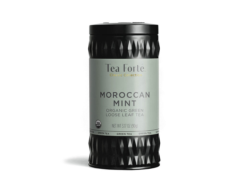 MOROCCAN MINT LOOSE LEAF TEA CANISTER