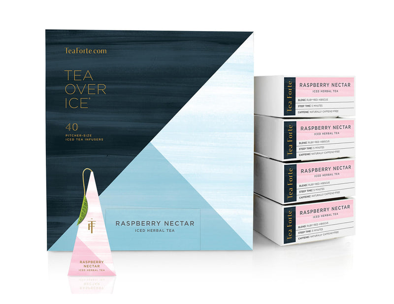 ICED RASPBERRY NECTAR TEA OVER ICE EVENT BOX