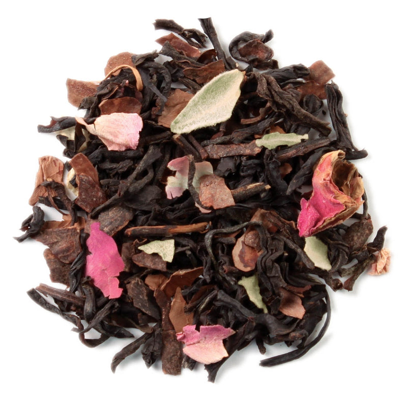 CHOCOLATE ROSE TEA LOOSE LEAF TEA CANISTER