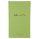 "Green Military Log Book, Record Book, Memorandum Book — 8 1/2"" x 14"" — NSN 7530-00-286-8363"