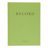 "Green Military Log Book, Record Book, Memorandum Book — 8"" x 10 1/2"" — NSN 7530-00-222-3525"
