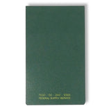 "(3 Pack) Tacticai Memorandum Book — 3 3/8"" x 5 1/2"" with Top Bound,144 Sheets — US Military, NSN 7530-00-243-9366 — Made in USA…"