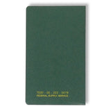 "(3 Pack) Tacticai Memorandum Book — 5 1/2"" x 3 3/8"" with Side, Sewn Bound and 144 College Ruled Sheets — US Military, NSN 7530-00-222-0078 — Made in USA"