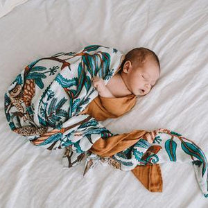 Wattle and Gum Swaddle