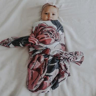 The Perfect Peony Swaddle