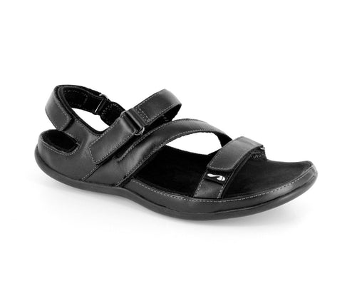 Strive MONTANA BLACK Walking Sandals