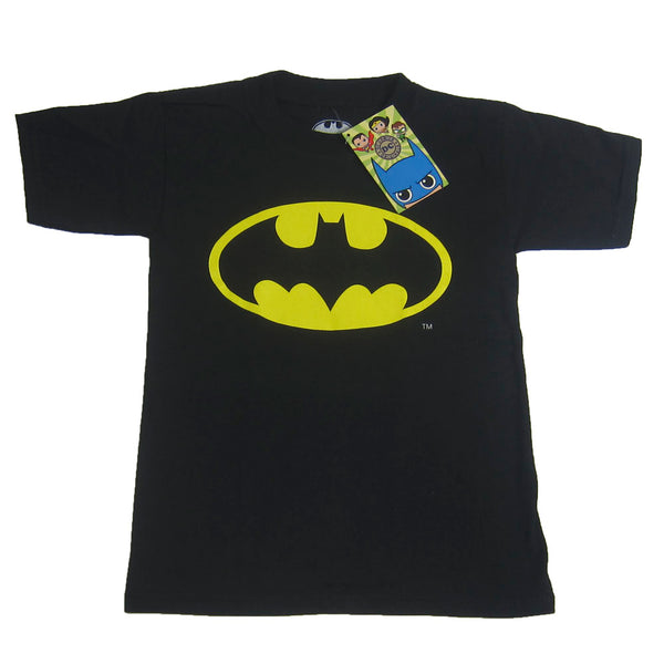 PLAYERA BATMAN LOGO NIÑO