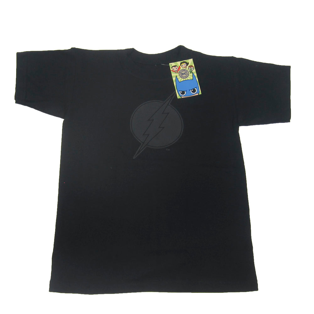 PLAYERA FLASH LOGO BLACK EDITION