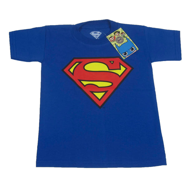 PLAYERA SUPERMAN LOGO NIÑO