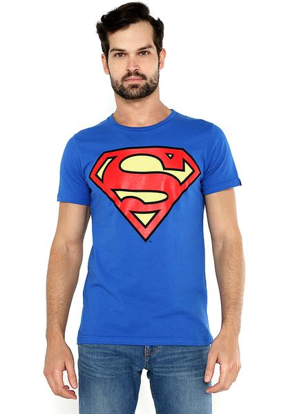 PLAYERA SUPERMAN AZUL