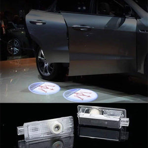 2X Ghost Shadow Light LED Welcome Projector Courtesy Step Lights Fit Maserati Free Shipping